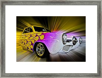 Hot Rod Art Framed Print by Steve McKinzie