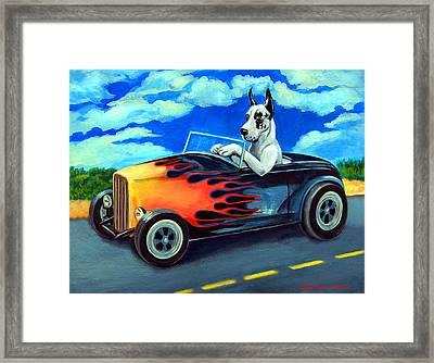 Hot Rod Harl Framed Print