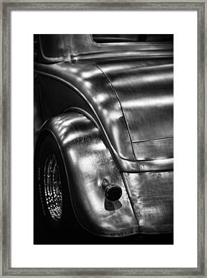 Hot Rod In The Raw Framed Print by Gordon Dean II