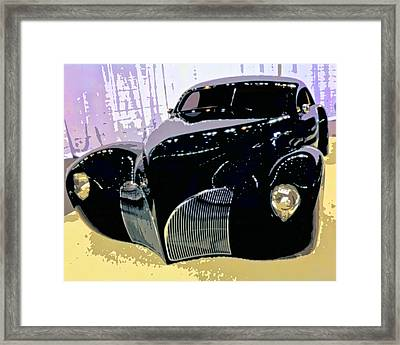 Hot Rod Framed Print by Michael Pickett