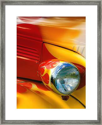 Hot Rod Rgb 01 Framed Print