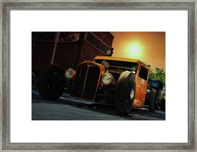 Hot Roddin' Framed Print