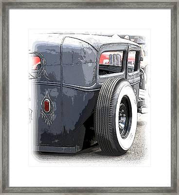 Hot Rods Forever Framed Print by Steve McKinzie