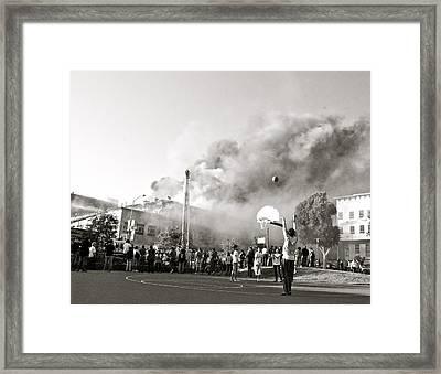 Hot Shot Framed Print by Thomas Brown