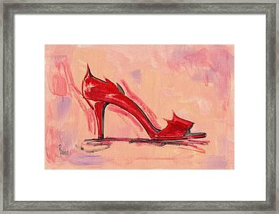Hot Stuff Framed Print by Richard De Wolfe