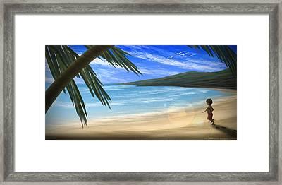 Hot Summer Framed Print by Hiroshi Shih