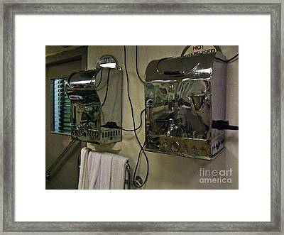 Hot Towels Framed Print by Black Sun Forge