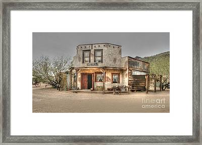Hotel Arizona Framed Print