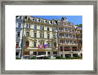 Hotel Astoria Karlovy Vary Framed Print