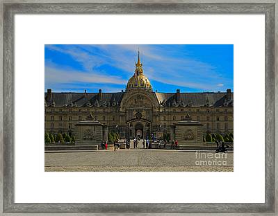Hotel Des Invalides Framed Print by Louise Heusinkveld