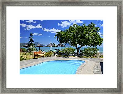Hotel Dream - Mauritius Framed Print by JH Photo Service