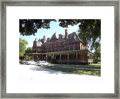 Hotel Florence Chicago Illinois Framed Print by Cedric Hampton