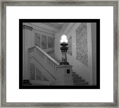Hotel Monoco Framed Print by Darleen Stry