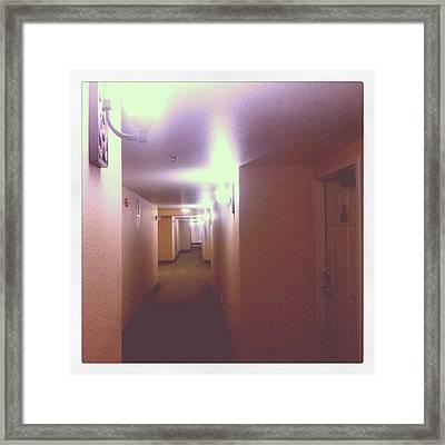 Hotel Nights Framed Print