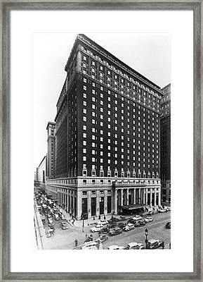 Hotel Pennsylvania, New York City Framed Print by Everett