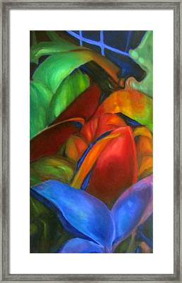 Hothouse I Framed Print by Susan Hanlon