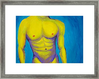 Hottie Framed Print by Randall Weidner