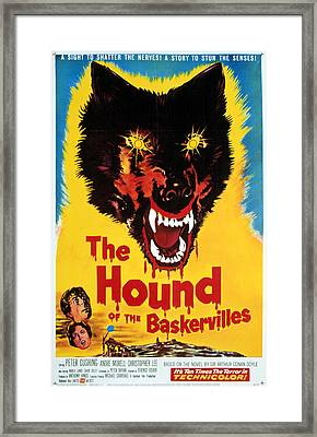 Hound Of The Baskervilles, Hammer Framed Print