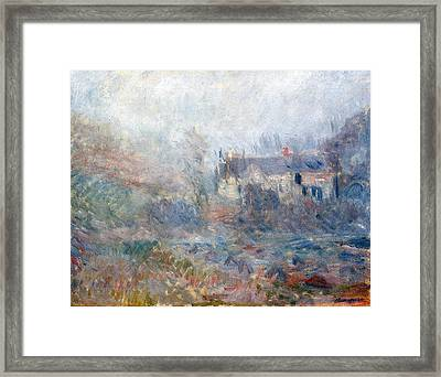 House At Falaise Framed Print by Claude Monet