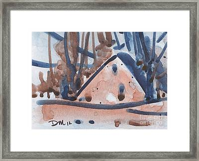 House Card Three Framed Print by Donald Maier