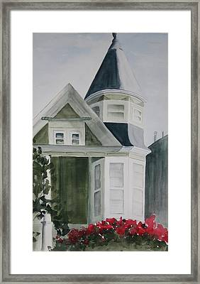 House In San Francisco Framed Print