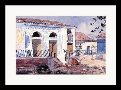 Santiago Cuba Framed Prints