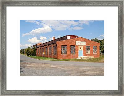 House Of Antiques Framed Print by