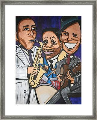 House Of Blues Framed Print by Christopher Holtwick