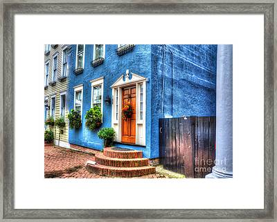 House Of Blues Framed Print by Debbi Granruth