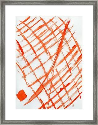 House Of Deceit Framed Print by Taylor Webb