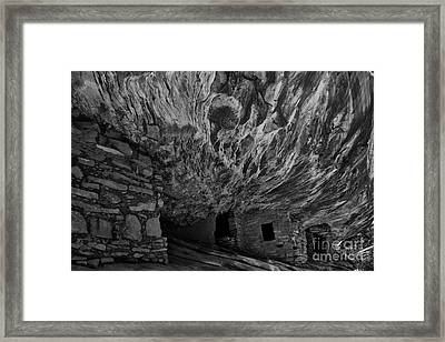 House Of Fire Framed Print by Keith Kapple