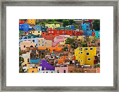 Framed Print featuring the photograph House Of Guanajuato - Mexico by Craig Lovell