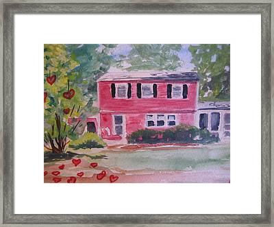 House Of Love Framed Print