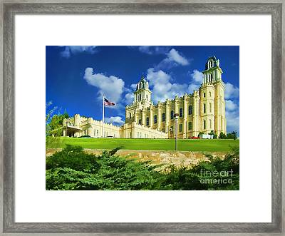 House Of Our Lord Framed Print by Diana Cox