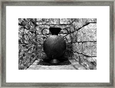 House Of Serpents Framed Print by David Lee Thompson