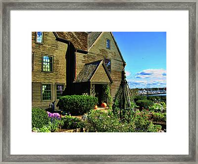 House Of The Seven Gables Framed Print