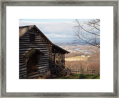 House On The Hill Framed Print by Robert Margetts