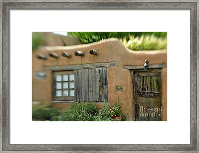House With A View Framed Print by Tamera James