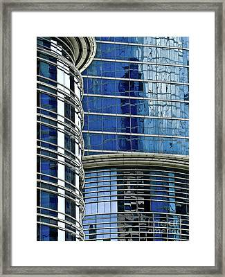Houston Architecture 1 Framed Print