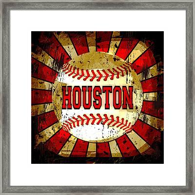 Houston Framed Print by David G Paul