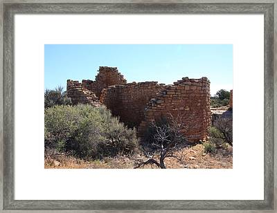 Hovenweep House Framed Print by Cynthia Cox Cottam