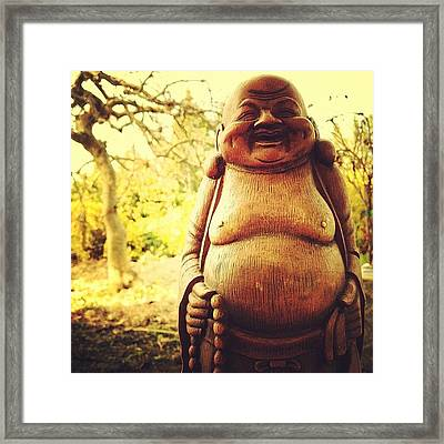 How Can You Say No To A Smile Like Framed Print by Johnathan Dahl