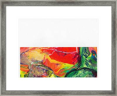 How Different Framed Print by Dan Cope
