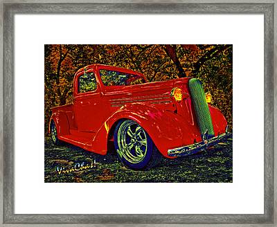 How Do I Love Thee Framed Print by Chas Sinklier