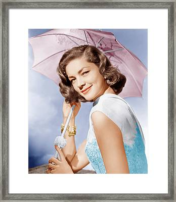 How To Marry A Millionaire, Lauren Framed Print by Everett