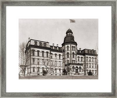 Howard University Was Founded In 1867 Framed Print by Everett