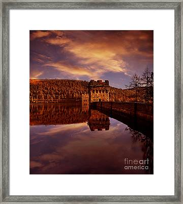 Howden Reflections Framed Print by Nigel Hatton