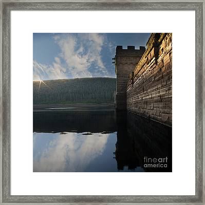 Howden Sun Rise Framed Print by Nigel Hatton