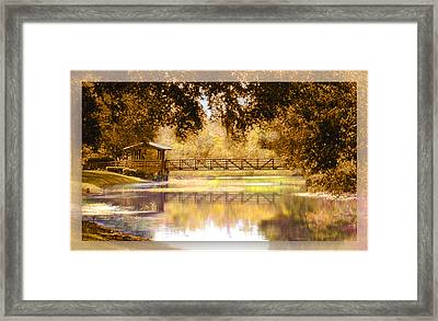 Howe's Bayou Framed Print by Ginny Schmidt