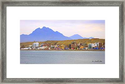 Huanchaco Front Framed Print by Mily Iriarte